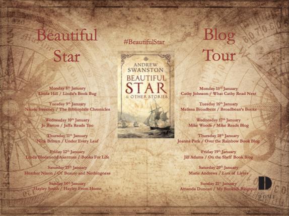 Beautiful Star Blog Tour Poster