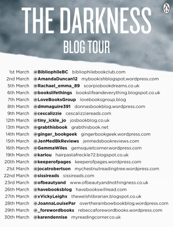 Blog Tour the Darkness