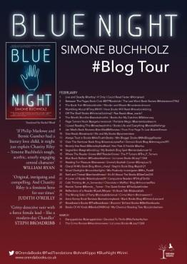 BLUE NIGHT Blog Tour Poster