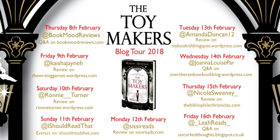 The Toy Makers Blog Tour poster
