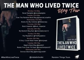 Man Who Live Twice Blog Tour Poster FINAL