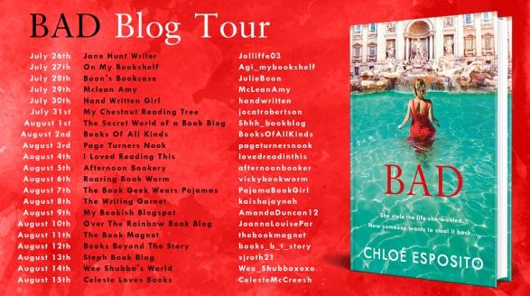 Correct Bad Blog Tour