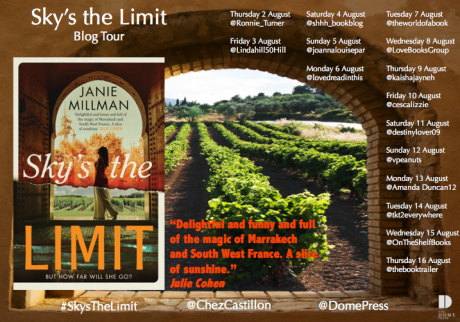 Sky's the Limit Blog Tour Poster