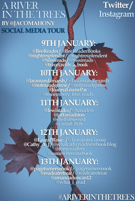 a river in the trees blog tour poster jpeg