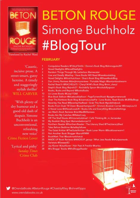 Beton Rouge blog poster 2019