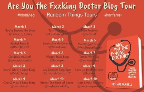 Doctor Blog Tour Poster
