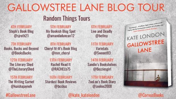 Gallowstree Lane Blog Tour Poster