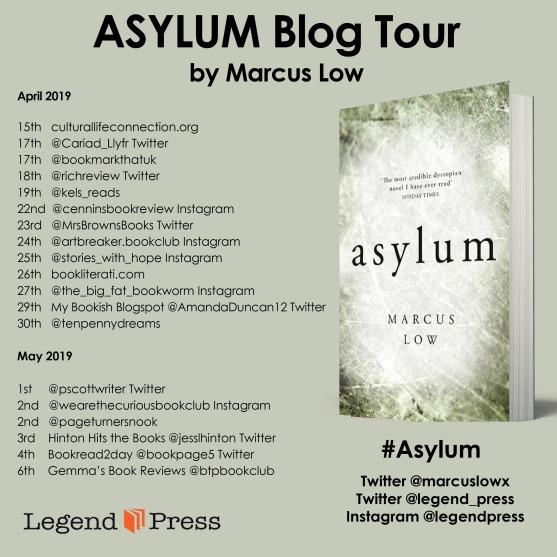 Asylum Blog Tour Banner