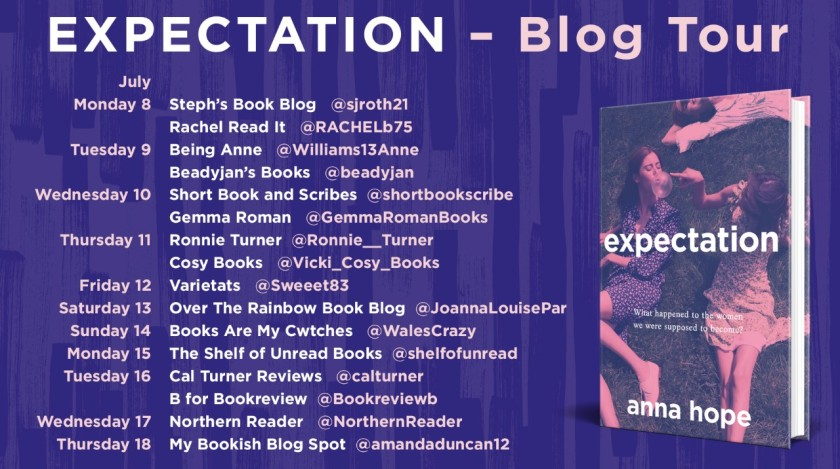 Expectation Blog Tour Poster