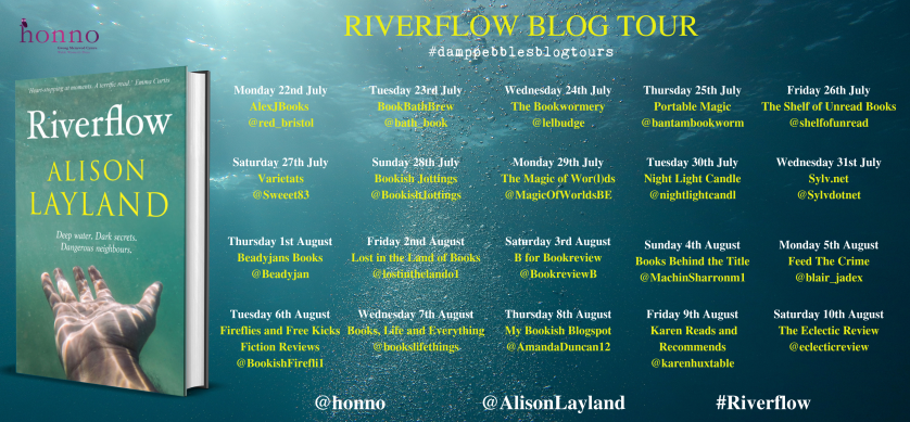Riverflow Blog Tour banner