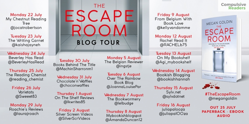 The Escape Room blog tour
