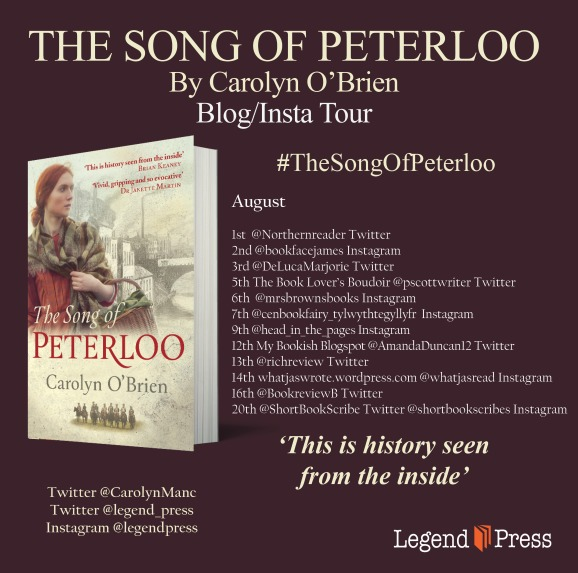 The Song of Peterloo Blog Tour