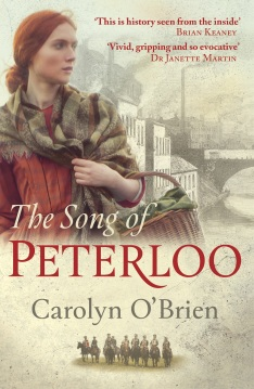 The Song of Peterloo Cover