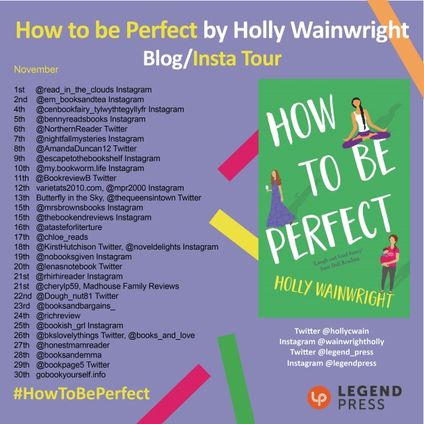 How to be Perfect Blog Tour