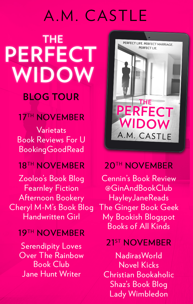 The Perfect Widow Blog Tour Banner